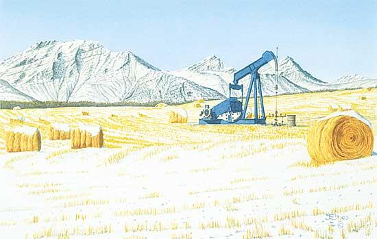 #1100 ~ Ellis - Alberta Heritage