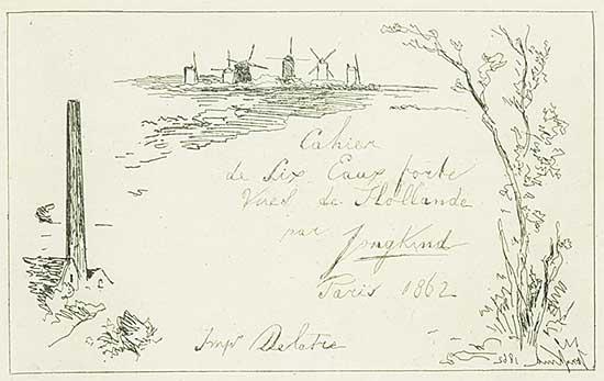 #1166 ~ Jongkind - Views of Holland