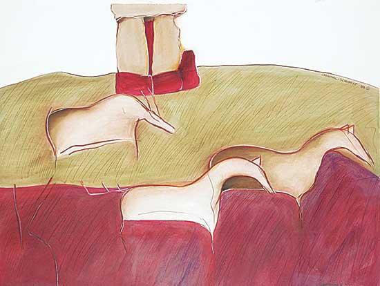#20 ~ Cardinal-Schubert - Stonehenge II