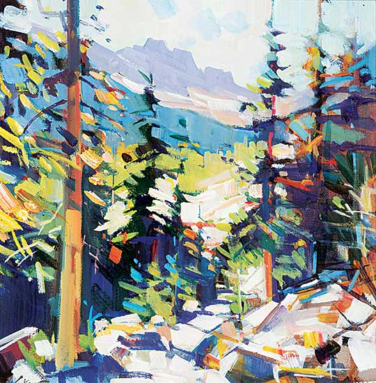 #475 ~ Vest - Rocky Trail Study - Tonquin Valley