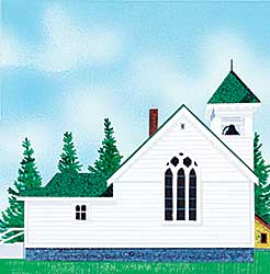 #240 ~ Thauberger - Little Church