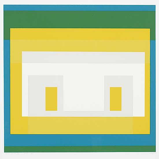 #1001 ~ Albers - Variants 1967: II  #55/200