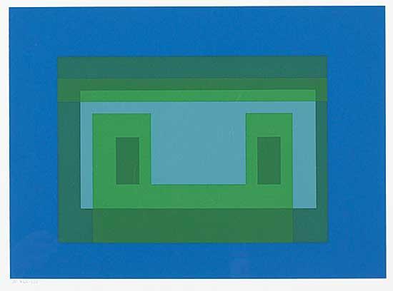 #1002 ~ Albers - Variants 1967: V  #264/300