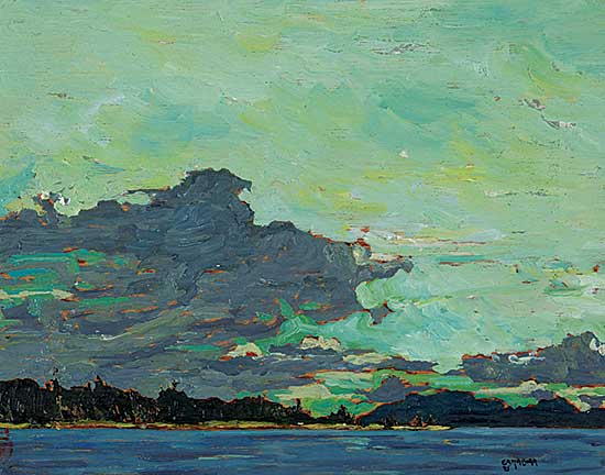 #1064 ~ Ermacora - Approaching Storm - West Coast