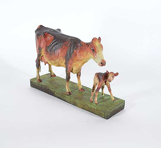 #1072.1 ~ Fafard - Untitled - Mother and her Calf  #2/5