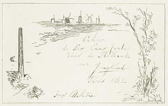 #1109 ~ Jongkind - Views of Holland