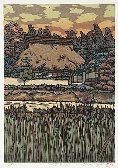 #1149 ~ Nishijima - Untitled - Home at Dusk  #414/500