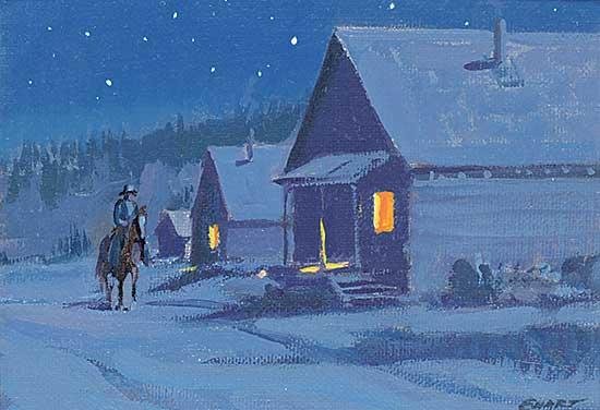 #431 ~ Ewart - Riding into Barkerville