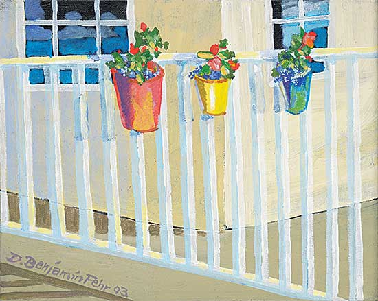 #33 ~ Fehr - Untitled - Flowers on the Patio