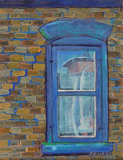 #34 ~ Fehr - Untitled - Blue Window