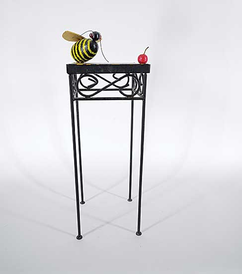 #59 ~ Hutchinson - Untitled - Bee and Cherry Stand
