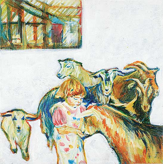 #66 ~ Johnston - Rachel and the Goats