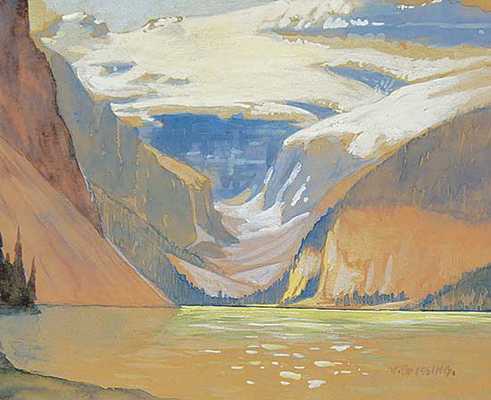 #54 ~ Gissing - Untitled - Lake Louise