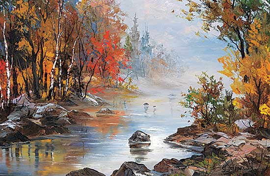 #63 ~ Jarvis - Fall Morning Mist