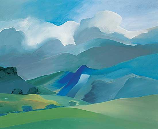 #82 ~ Onley - Blue Hills, New Zealand