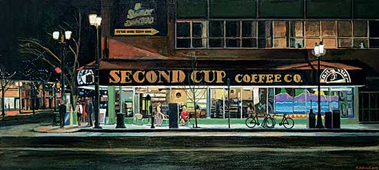 #103 ~ Theriault - The Second Cup