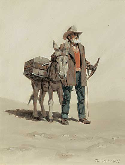 #418 ~ Freeman - Prospector and Friend