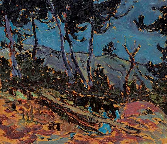 #1053 ~ Ermacora - Painting Trip, Georgian Bay