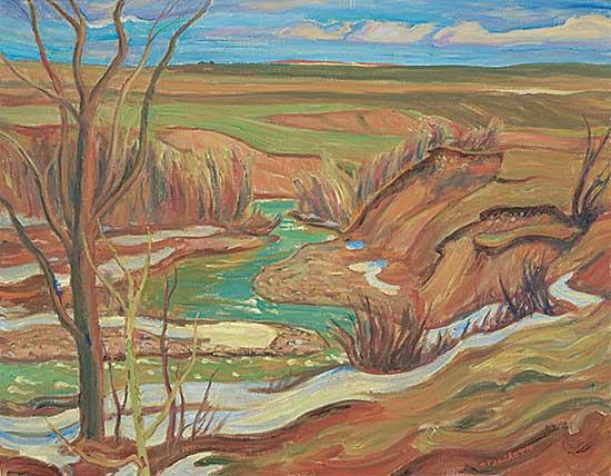 #38 ~ Jackson - Drywood Creek, Waterton Lake / Pincher Creek