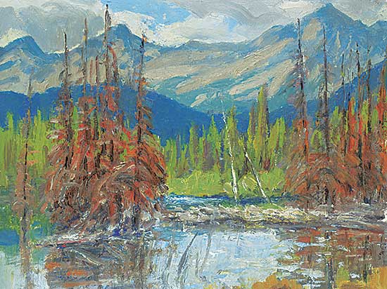 #477 ~ Turner - Junction of Elbow and Little Elbow River