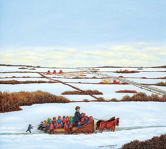 #483 ~ Zaharichuk - Untitled - The Sleigh Ride