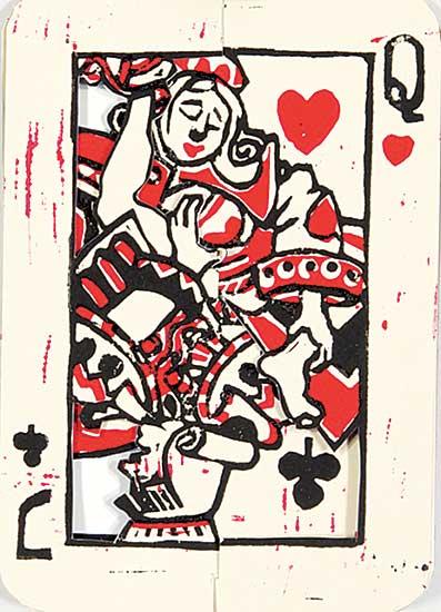 #1212 ~ van Wyk - Playing Cards Mischief