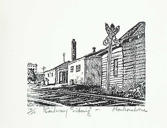 #1193 ~ Montcombroux - Railway Siding  #14/100