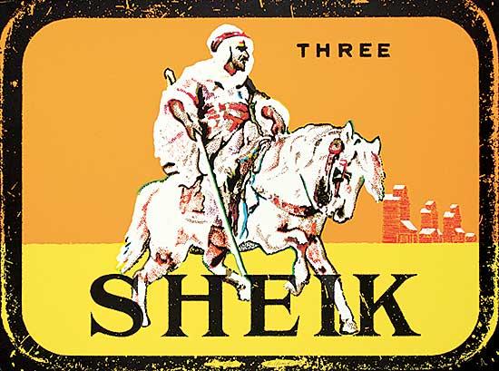 #1331 ~ Yuristy - Three Sheik  #A/P