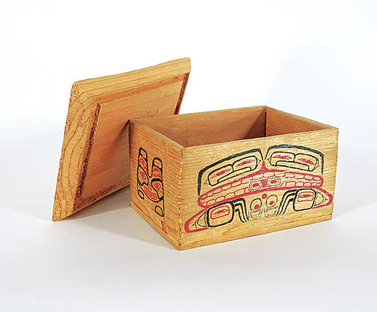 #1536 ~ Joseph - New Hazelton Bentwood Box