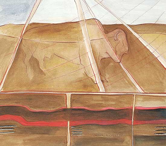 #20 ~ Cardinal-Schubert - Buffalo Lodge