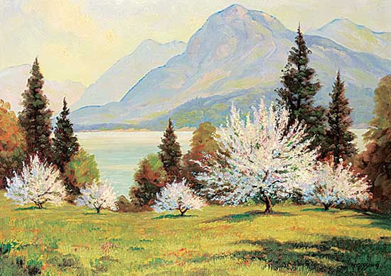 #48 ~ Gissing - Orchard on Kootenay Lake