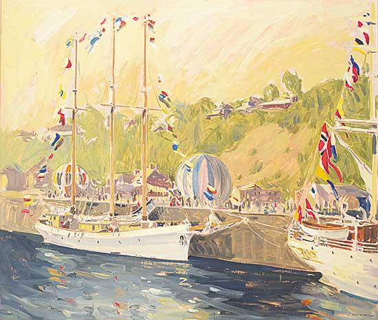 #117 ~ Yuzbasiyan - Empire Sandy with Norwegian Ship