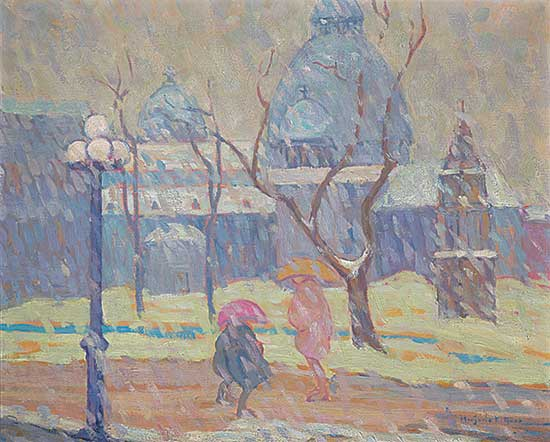 #443 ~ Gass - Dominion Square on a Wintery Day
