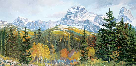 #1105 ~ Fleming - Untitled - Mountain View