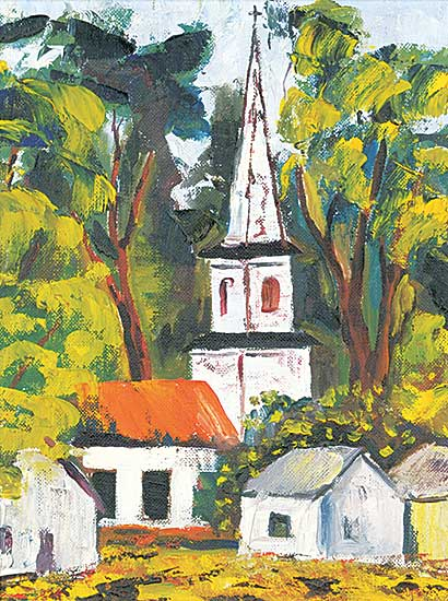 #1261 ~ Paquet - Untitled - The Steeple