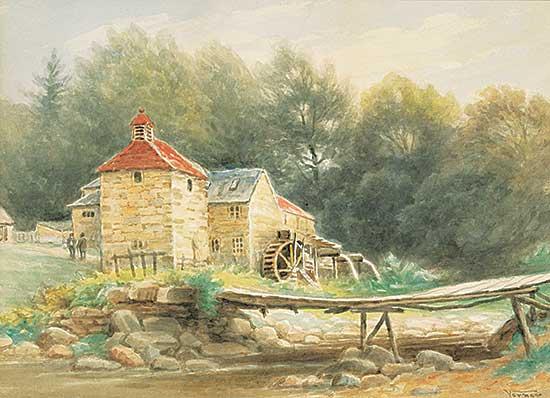 #1339 ~ Verner - Scotch Mill Near Calender