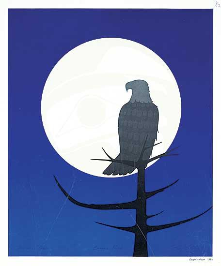 #1341 ~ Vickers - Eagle's Moon  #Printer's Proof