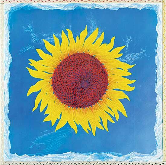 #1347 ~ Voyer - Untitled - Sol Flower