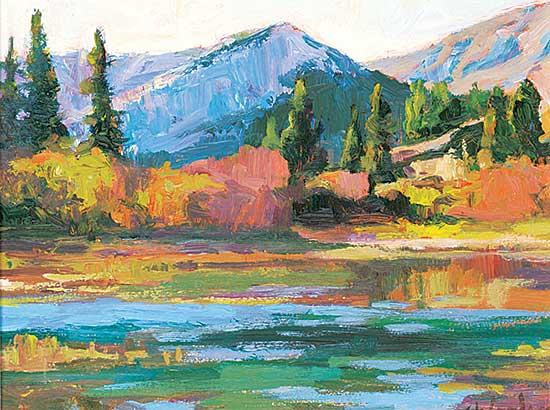 #1419 ~ Woolgar - Crowsnest Lake