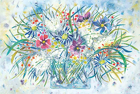 #1422 ~ Young - Untitled - Explosion of Spring Flowers