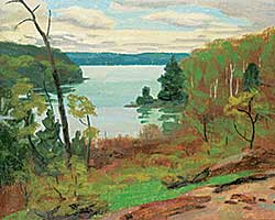 #1330 ~ Thomson - Untitled - View of the Bay