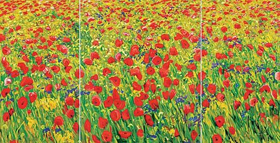 #42 ~ Fournier - Untitled - Poppies