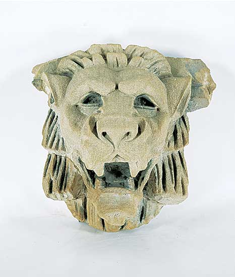 #494 ~ School - Lion Head Gargoyle