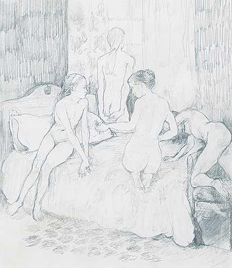 #1084 ~ Franko - Night Shall Eat These Girls