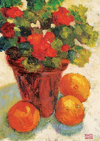 #1262 ~ Scott - Red and Orange