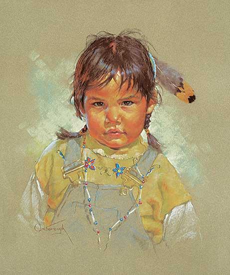 #472 ~ Oxborough - Morning Child