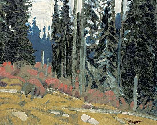 #1067 ~ Ewart - On Mount Revelstoke, B.C.
