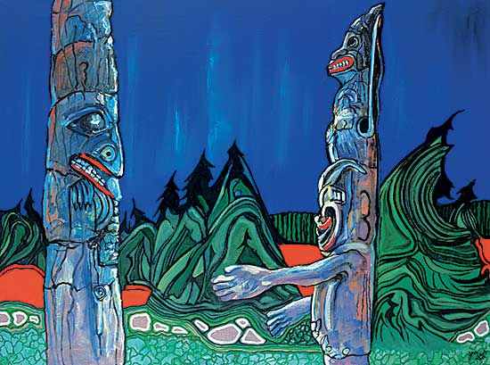 #99 ~ Vallee - Monumental Power - Totem Series [19A Blue]