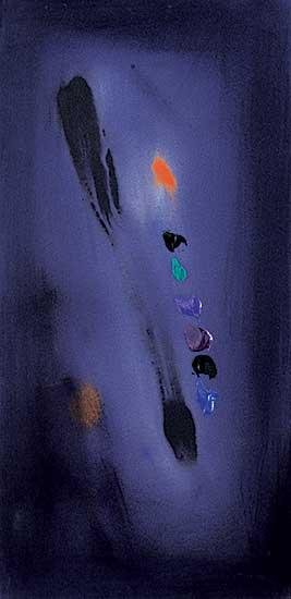 #1403 ~ Thomson - Untitled [Dark Violet Abstract]