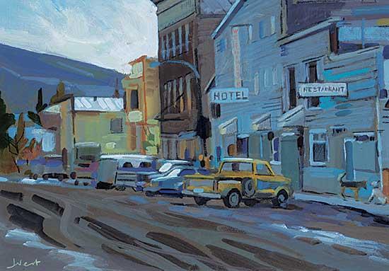 #1413 ~ Vest - In Dawson City